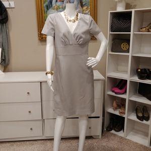 BANANA REPUBLIC CROSSOVER SHEATH DRESS 8